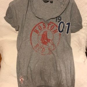 Size large Red Sox shirt